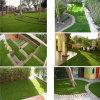 庭のパット用グリーンの人工的な草の芝生の泥炭