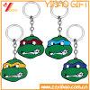 Trousseau de clés en métal de forme de tortue de Zhongshan pour le cadeau de promotion
