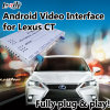 Relação video de Lvds do Android 6.0 para Lexus CT 2012-2017 com o mapa de Igo do cartão do TF