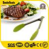 Heavy Duty Non-Stick Cuisine en acier inoxydable pince rouge pour le barbecue