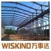 Il blocco per grafici d'acciaio chiaro/ha prefabbricato il magazzino d'acciaio/struttura d'acciaio prefabbricata