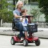 trotinette elétrico da mobilidade de quatro rodas para o homem deformado