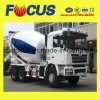 Acoplado de mezcla del tanque del cemento del chasis 8m3 de la buena calidad Hino/HOWO semi, mezclador concreto del carro