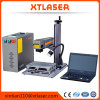 Grabador portable del laser de la mini de la fibra etiqueta de plástico portable del laser