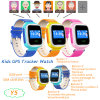 1.0  Sos Button Y5를 가진 다채로운 Screen Kids GPS Tracker Watch