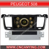 Speciale Car DVD Player voor Peugeot 508 met GPS, Bluetooth. (CY-7068)