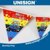 Unisign Hot Selling Bunting Flag con Customized Size e Design (UBF-1)