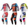 L'attrezzo di corsa di motocross dell'attrezzo del MX di Fox 180 imposta i vestiti del motociclo (AGS03)
