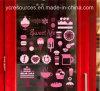 Pvc Wall Stickers van Restaurant/Emporium