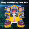 Развлечения в нескольких минутах ходьбы робота с музыкой и лазерных боевых действий в режиме для взрослых и детский парк аттракционов