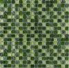 Cristallo contro le mattonelle di pietra della miscela del mosaico (M8CSPTY43)