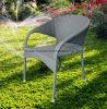 Rattan/mobilia esterni di svago del giardino ganascia di vimini