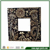 Popular Black Wooden Flower-Patterned Craft Picture Frame