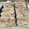 Panneaux muraux en pierre empilés en sable naturel (SMC-SCP427)
