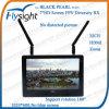 E89 Flysight Black Pearl 7  Dual Diversity 5.8GHz Fpv LCD Monitor RC801