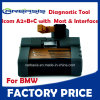 Programming de diagnóstico Tool Icom A2+B+C Without Cables para BMW
