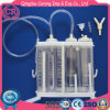 1600ml / 2000ml garrafa de drenagem descartável médica em PVC