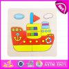 2015 puzzle di legno promozionali del puzzle, puzzle su ordinazione del puzzle del nuovo giocattolo di legno di stile, migliore giocattolo W14c099 dei giochi di puzzle del puzzle di qualità