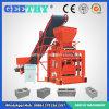 Machine manuelle concrète de brique de cendres volantes de la machine Qtj4-35b2 de brique