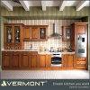 Il legno solido moderno dell'armadio da cucina di stile della lacca ha fatto (VT-SK-030)