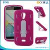 Силикон + PC Гибридный Kickstand Телефон чехол для Blu-студия X D750u