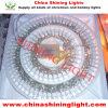 Luzes impermeáveis do feriado do diodo emissor de luz IP44 do fio desobstruído do Chile