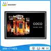 Zoll LCD des geöffneten Spant-17.3 Bildschirmanzeige mit Bewegungs-Fühler (MW-171AES) bekanntmachend