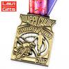 工場直接卸し売りカスタム金属賞の世界の歩くメダル