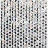 보석 백색 사각 자연적인 쉘 모자이크 건축재료 300*300mm
