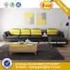 Sofá de cuero salón sofá de madera (HX-8NR2052)