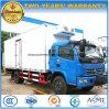 Transport de nourriture fraîche de roues de Dongfeng 6 et camion de Regrigerated