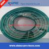 Boyau de jardin tressé de pipe d'irrigation de l'eau de fibre flexible en plastique de PVC