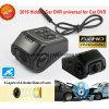 Новый спрятанный миниый камкордер черточки автомобиля построенный в камере автомобиля 5.0mega, C.P.U. Novatek Ntk96650, WDR, G-Датчике, GPS отслеживая, WiFi для управления DVR-1519 мобильного телефона
