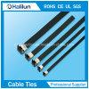 9*250mm/13*250mm Belüftung-überzogener Edelstahl-Flügel-Verschluss-Kabelbinder