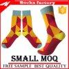 Der Winter modisch fertigen Blatt-Muster-fantastischer Mann-Socken kundenspezifisch an