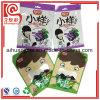 Bolso plástico del acondicionamiento de los alimentos de la marca de fábrica del sello de encargo de la cara