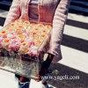 Коробка цветка фабрики Yageli выполненная на заказ ясная водоустойчивая акриловая