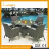 في المتناول [هيغقوليتي] فناء [بروون] [رتّن] يثبت طاولة خارجيّة [ويكر] أثاث لازم في حديقة أثاث لازم مجموعة