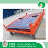 Jaula plegable de acero del acoplamiento de alambre para el almacenaje del almacén