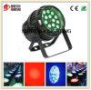 18PCS*10W RGBW cuatro en uno con IGUALDAD impermeable del zoom LED puede encender uso al aire libre