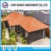 Corrugated стальная плитка крыши шифера строительного материала с каменными обломоками