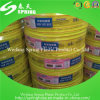 Boyau renforcé de l'eau de PVC tressé par fibre de 3/4 pouce de diamètre interne