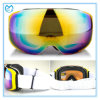 Mirrored PC Ski Equipment Sports Goggles with Changeable Lenses