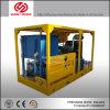 3000psi Triplex de alta pressão da bomba de água para a limpeza da máquina com motor diesel