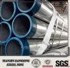 Tubo de acero galvanizado invernadero de ERW, talla pre galvanizada 32m m del tubo