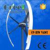 turbina di vento verticale di asse 1kw con il regolatore e l'invertitore