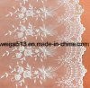 Garniture chimique de lacet de voile suisse de mariage de cordon