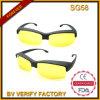 Occhiali da sole di sicurezza Sg58 con l'obiettivo giallo