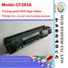 Marca nuevo cartucho de tóner para HP CF283A (83A); Versión Europa