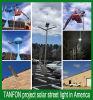 Сад солнечной энергии света LED 15W, солнечная энергия светодиодный индикатор и индикатор питания солнечной улице лампа
